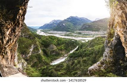 Alps mountains in in Povince Belluno. Veneto, Italy