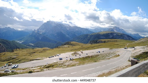 Alps - mountainside in South Tyrol, Italy