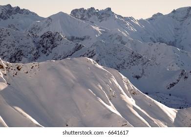 Allgäu Alps Oberstdorf Germany