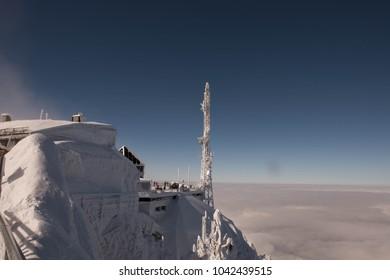 Alps in snow