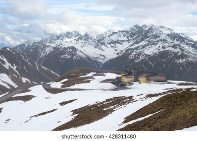 the Alps - the view from Grossglockner alpine road