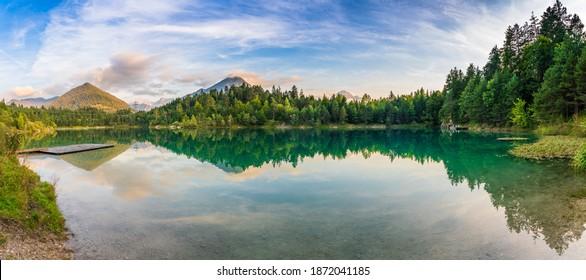 Alpsee lake in German Alps,Bavaria, Germany