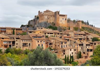 Alquezar, a beautiful medieval village in Huesca province, Aragon, Spain