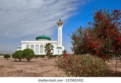 Al-Salam  Mosque in Sharm El Sheikh. series of photos of Sharm El Sheikh. Egypt