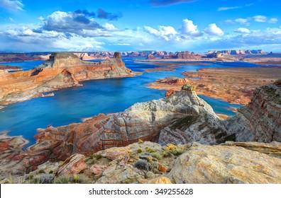 Alstrom point, Lake Powell, Page, Arizona, united states