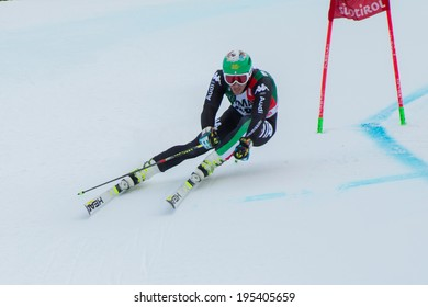 Alta Badia, ITALY 22 December 2013. CASSE Mattia (ITA) competing in the Audi FIS Alpine Skiing World Cup MEN'S GIANT SLALOM.