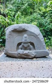 Altar of the children. La Venta Park, Villahermosa, Mexico