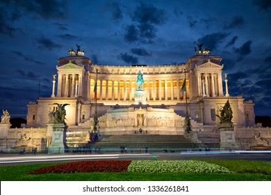 Altar of the Fatherland - temple honoring Italy's first king & First World War soldiers, Rome