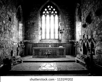 The Altar, Iona Abbey on the Isle of Iona, Scotland