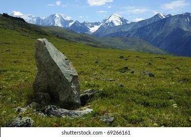 the Altay mountains, Katunsky range