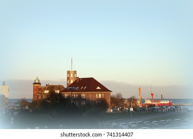"""""""Alte Liebe"""" port on the North Sea in Cuxhaven , Germany"""