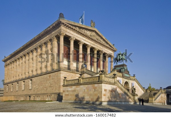 Alte Nationalgalerie On Museumsinsel Berlin Germany Stock Photo Edit Now 160017482