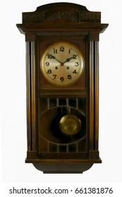 Alte Uhr mit Pendel