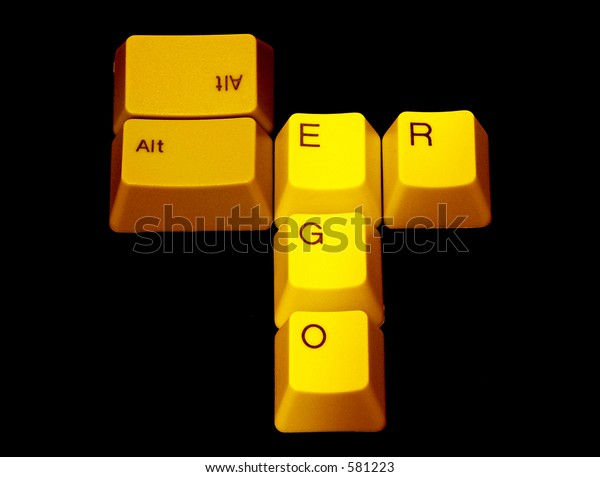 Alter Ego Concept On Keyboard Keys Stock Photo (Edit Now) 581223