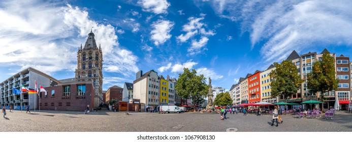 Köln, Alter Markt, Germany