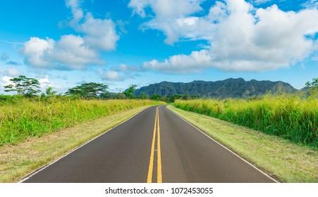 alternate road to kapaa kauai hawaii