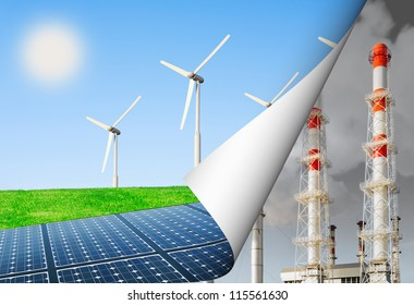 alternative energy and the environment, energy production update
