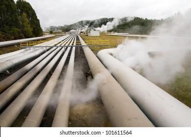 Alternative energy geothermal power station