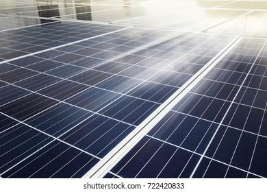alternative energy photovoltaic solar panels.