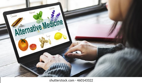 Alternative Medicine Health Herb Therapy Concept