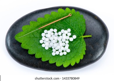 Alternative medicine with homeopathy and acupuncture