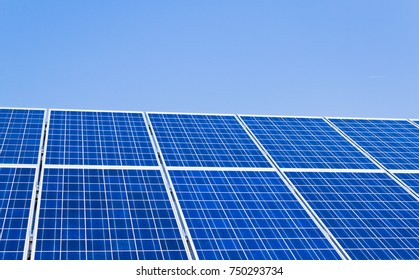 alternative solar energy. solar energy power plant.