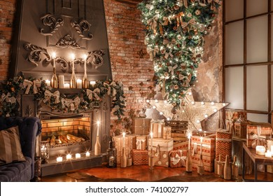 Upside Down Christmas Tree Ceiling.Upside Down Christmas Tree Images Stock Photos Vectors