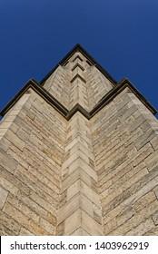 Alternative view of a church. St John's Church Darlington