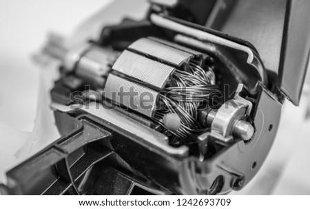 Alternator Image Car Alternator Sectional View Automobile Stockfoto
