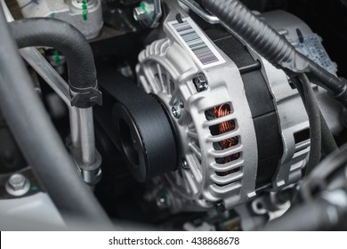 alternator work at shallow depth of field