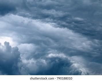 Altostratus Overcast Sky