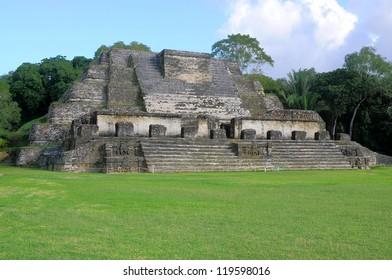 Altun Ha, ruins of an ancient Maya city in Belize