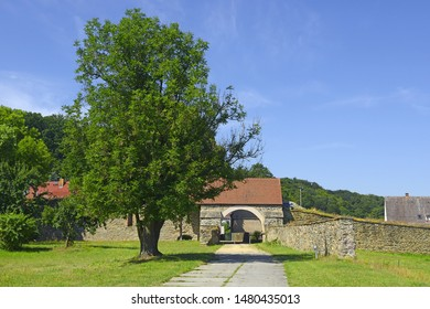Altzella Abbey. Altzelle Abbey is a former Cistercian monastery near Nossen in Saxony, Germany. The former abbey contains the tombs of the Wettin margraves of Meissen from 1190 to 1381.