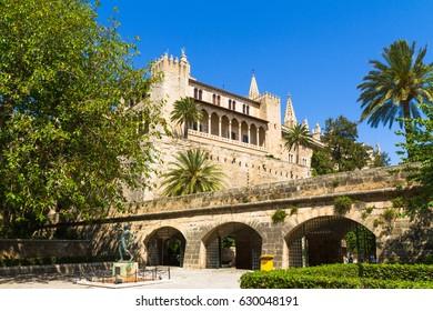 Aludaina Palace in Palma, Mallorca, Spain.