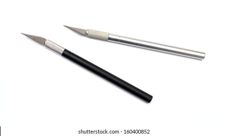 Aluminim Craft Knife on a white background