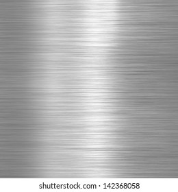 Aluminium brushed plate background or texture