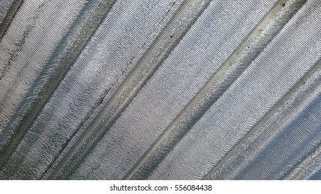 Aluminium coated roof tile, background