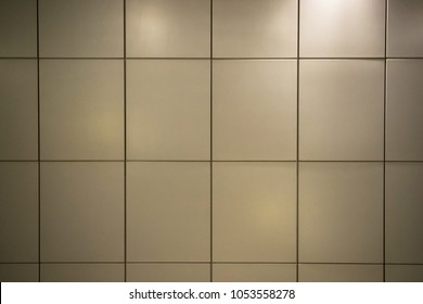 Aluminium composite background.