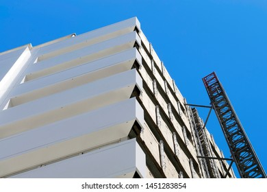 aluminium composite panels to repair  restore building  facade