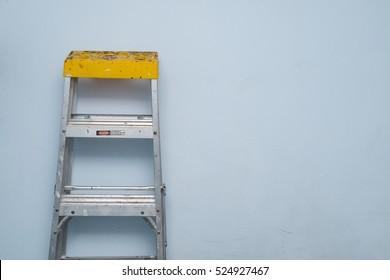 An Aluminium ladder for a higher jobs for technician, mechanic, artisan, engineer, craftsman and etc.