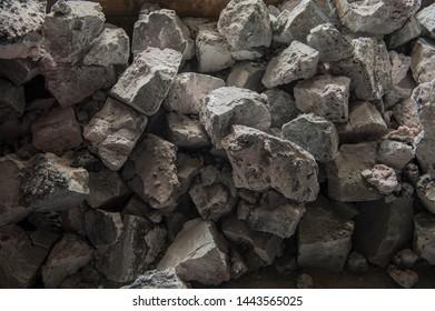 Aluminium plant. aluminum smelting bucket. Safe environmental high-tech processes. Modern smelter. Melting furnace. alumina bauxite foil, cryolite powders