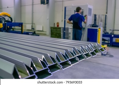 Aluminium profiles for constructions,