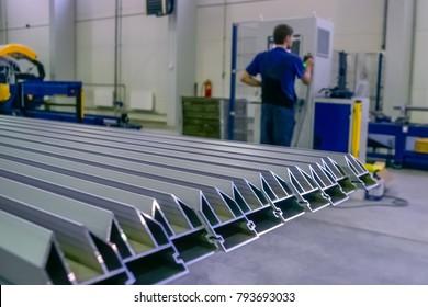 Aluminium profiles for constructions,