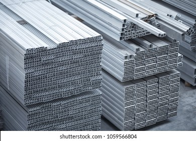 Aluminium profiles for constructions. Aluminum constructions factory