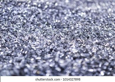 Aluminium shaving texture