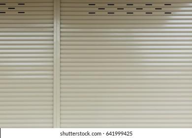 Aluminium steel metal roller shutter door