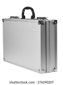 aluminum case for tools isolated on white background