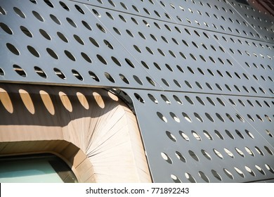 Aluminum Composite Panel With Holes perforated sheet