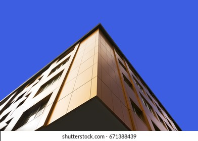 aluminum composite panels to repair , restore , the facade  of  building