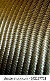 Aluminum Electrical cable in a spool